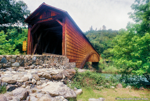 Bridgeport Covered Bridge, Bridgeport, CA.