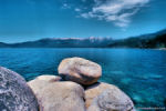 Lake Tahoe, border of CA and NV.