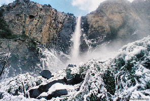 Bridal Veil Falls Closeup
