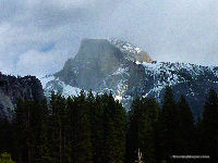 Half Dome Rock Closeup