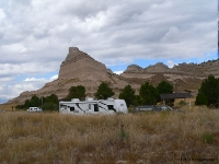 Traveling Morgan's Unit at Scott's Bluff.