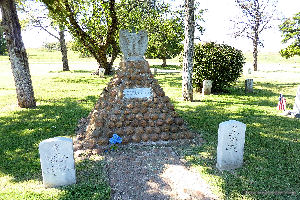 Geronimo Grave. Fort Sill OK.