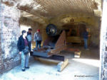 Cannon at Ft. Sumter, Charleston SC.