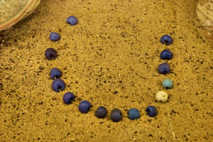 Some of the beads used to purchase Manhattan in 1626.