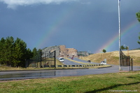 Rainbow at Crazy Horse Monument