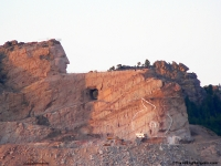 Crazy Horse Monument from the road  2009