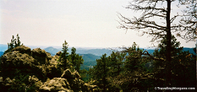 View From Little Devils Tower Trail