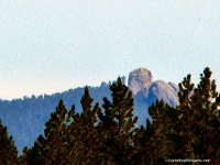 Little Devils Tower from Distance