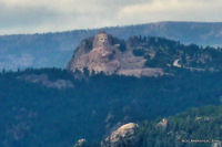 Crazy Horse from Mt Coolidge