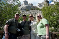 Mt Rushmore with Family