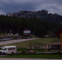 Mt Rushmore from Keystone