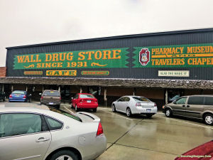 The world famous Wall Drugs