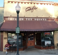 Cafe on the Square.