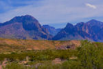 Chisos Moutains in Big Bend National Park.