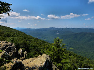 Raven's Roost Overlook on the Blue Ridge Parkway in VA.